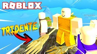 I GET THE AQUAMAN TRIDENTE in BOOGA BOOGA by ROBLOX! 🔱