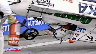Enrique Contreras Big Crash 1995 Indy Lights Detroit