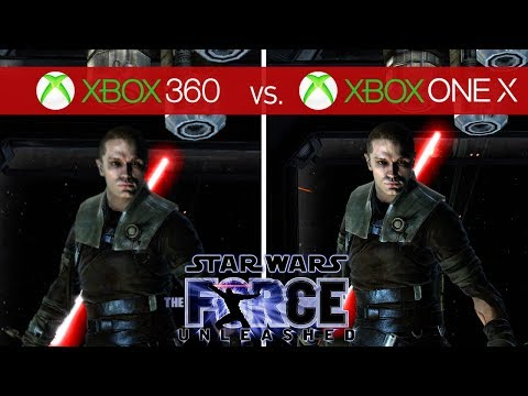 Star Wars: The Force Unleashed Comparison - Xbox 360 vs. Xbox One X