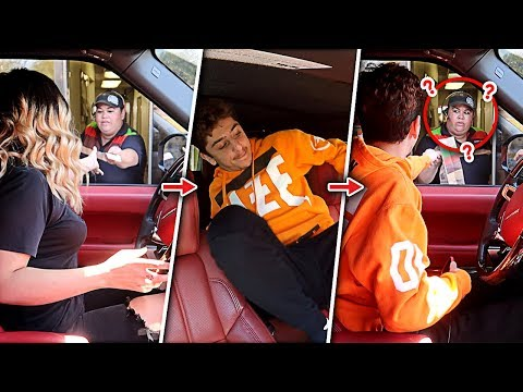 TROLLING DRIVE THRU WORKERS!! (SWITCHING DRIVERS)