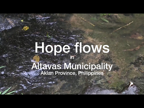 Water impounding system in Aklan Province, Philippines