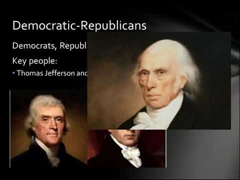 APUSH Review: Federalists and Democratic-Republicans