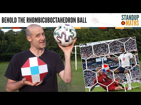 Why the Euro Ball being a Rhombicuboctahedron is good for England