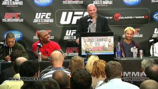 UFC 135 Post-Fight Press Conference (Complete & Unedited)
