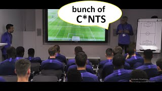 """Bunch of c**ts"" 