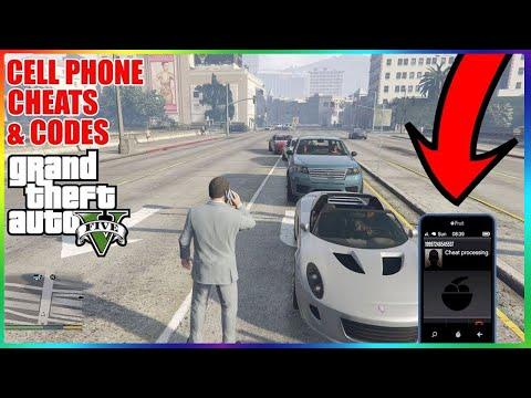GTA 5 Cheats (Cell Phone Version)