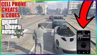 GTA 5 Cheats - All 35 Cell Phone Cheat Numbers