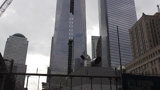 UPDATE! One World Trade Center / Freedom Tower 5/21/2014 construction part 3 with glass installation