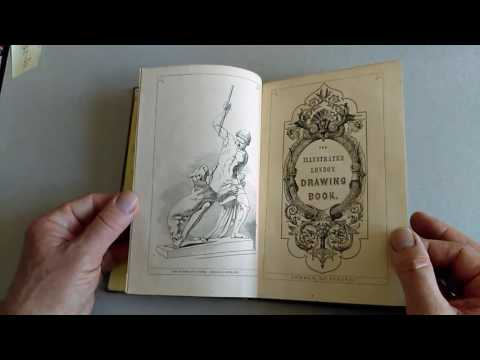 VERY CHARMING COPIOUSLY ILLUSTRATED VICTORIAN 1852 BOOK on DRAWING and ENGRAVING