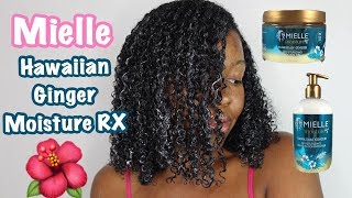 MIELLE Moisture RX Hawaiian Ginger Leave-In Conditioner & Styling Gel | I'M SURPRISED BY MY RESULTS