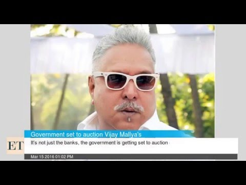 Private Jet of Vijay Mallya To Be Auctioned