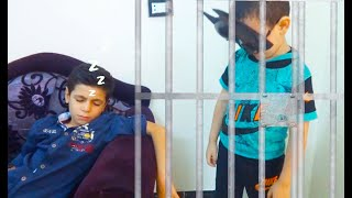police kids الحرامي سرق مجوهرات مريومة والشرطي ينقذها