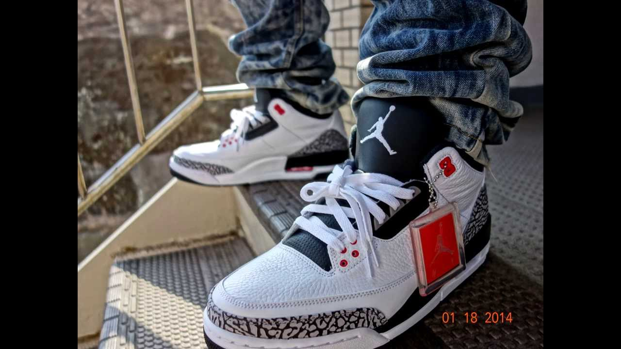2014 Nike Air Jordan Retro III 3 Infrared Review   On Foot - YouTube 141f88566