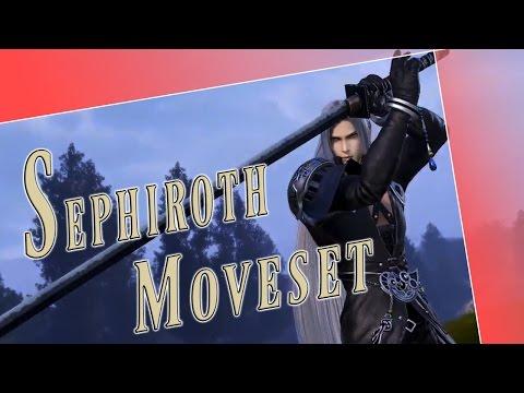 Sephiroth Moveset + Detail - Dissidia Final Fantasy NT (DFFAC/DFFNT)