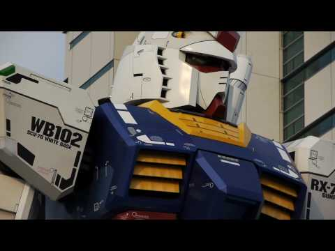 1/1 scale GUNDAM in Shizuoka : GUNDAM was released