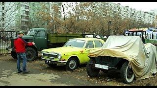Забытые автомобили в Чертаново / Abandoned  Russian cars in Moscow #6