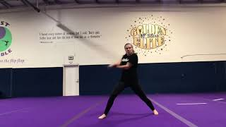 Girl Shows off Extreme Martial Arts Skills with Weapons - 1008025