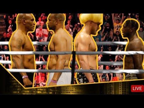 Mike Tyson Vs Roy Jones J R And Jake Paul Vs Nate Robinson Full Live Stream Stay Till The End Youtube