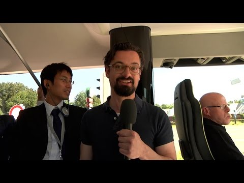 Mercedes-Benz Future Bus: The first autonomous city bus - Mercedes-Benz original