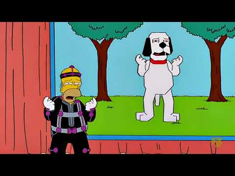 The Simpsons - Danger Dog cartoon (S13Ep18) from YouTube · Duration:  45 seconds