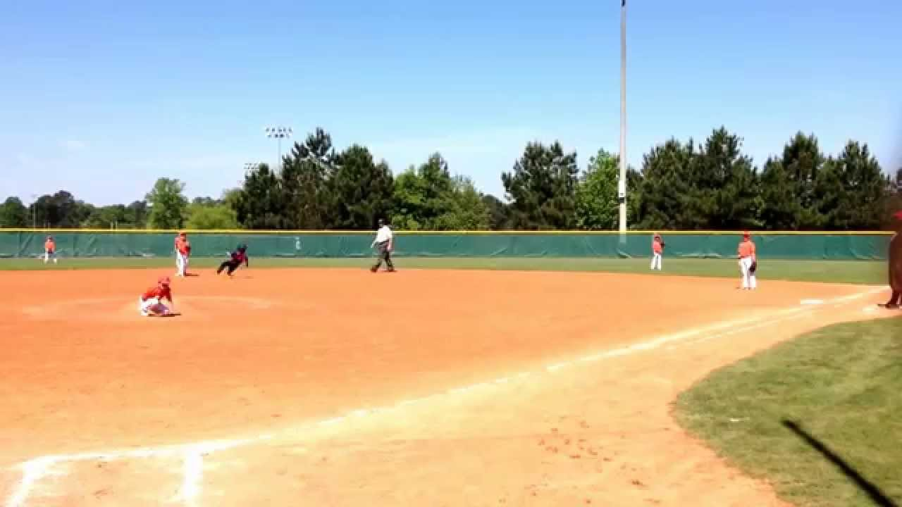 Alex Base Steal Baseball 8U Travel tournament Georgia Yard Dogs vs Georgia  Octane May 2 2015
