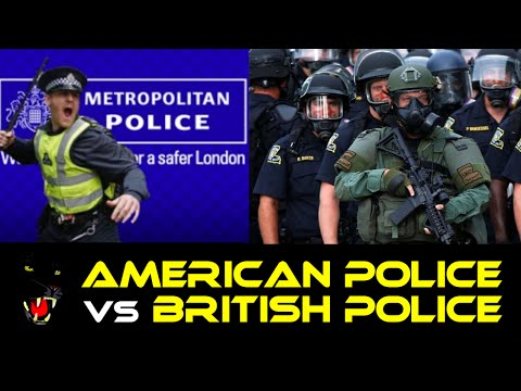 American Police vs British police