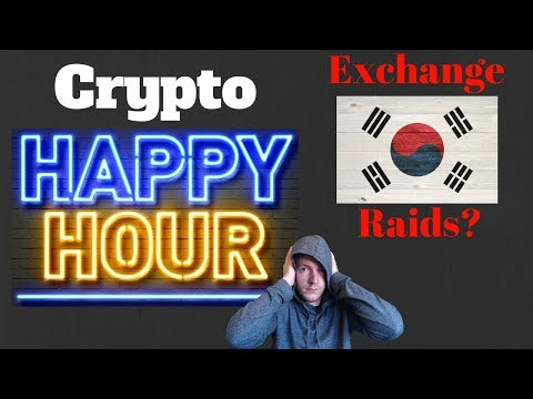 Crypto Sad/Crash  Hour - Korea Exchange Raids? - January 10th Edition