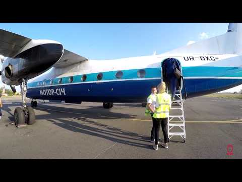 Motor Sich Antonov An-24RV Odessa ODS to Kiev IEV
