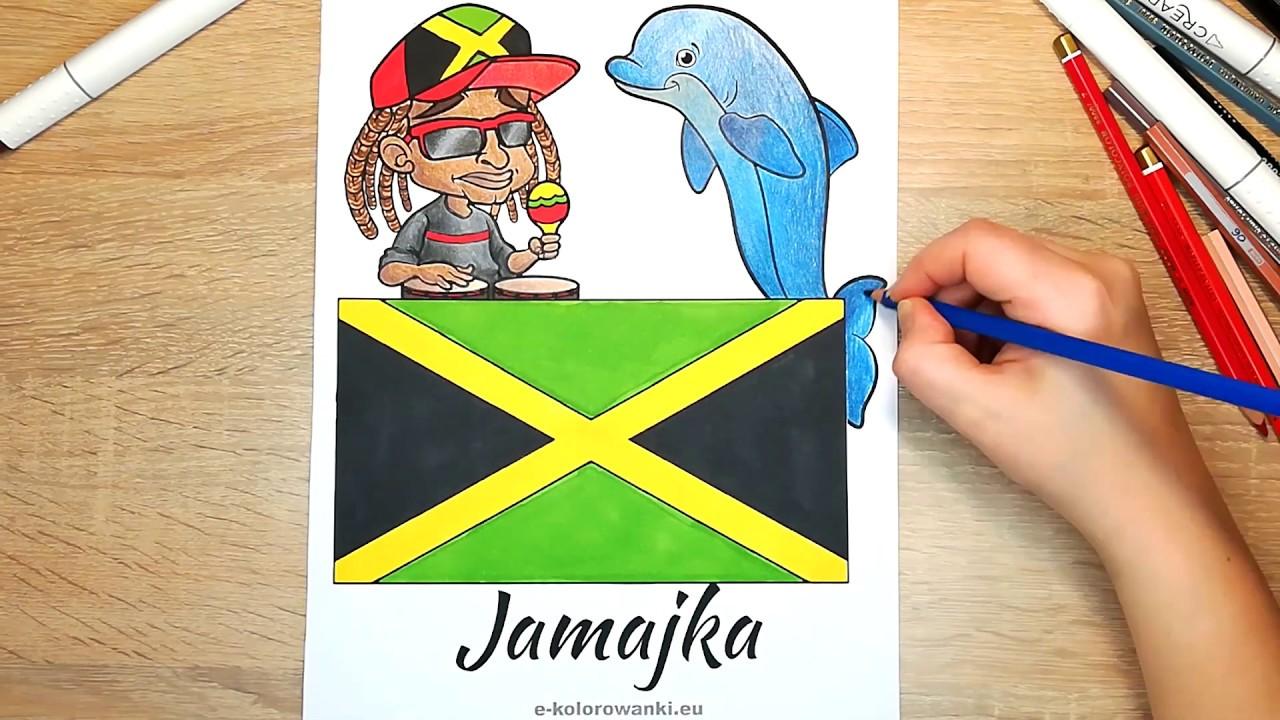 Darmowe Kolorowanki Edukacyjne Dla Dzieci Flagi Kraje