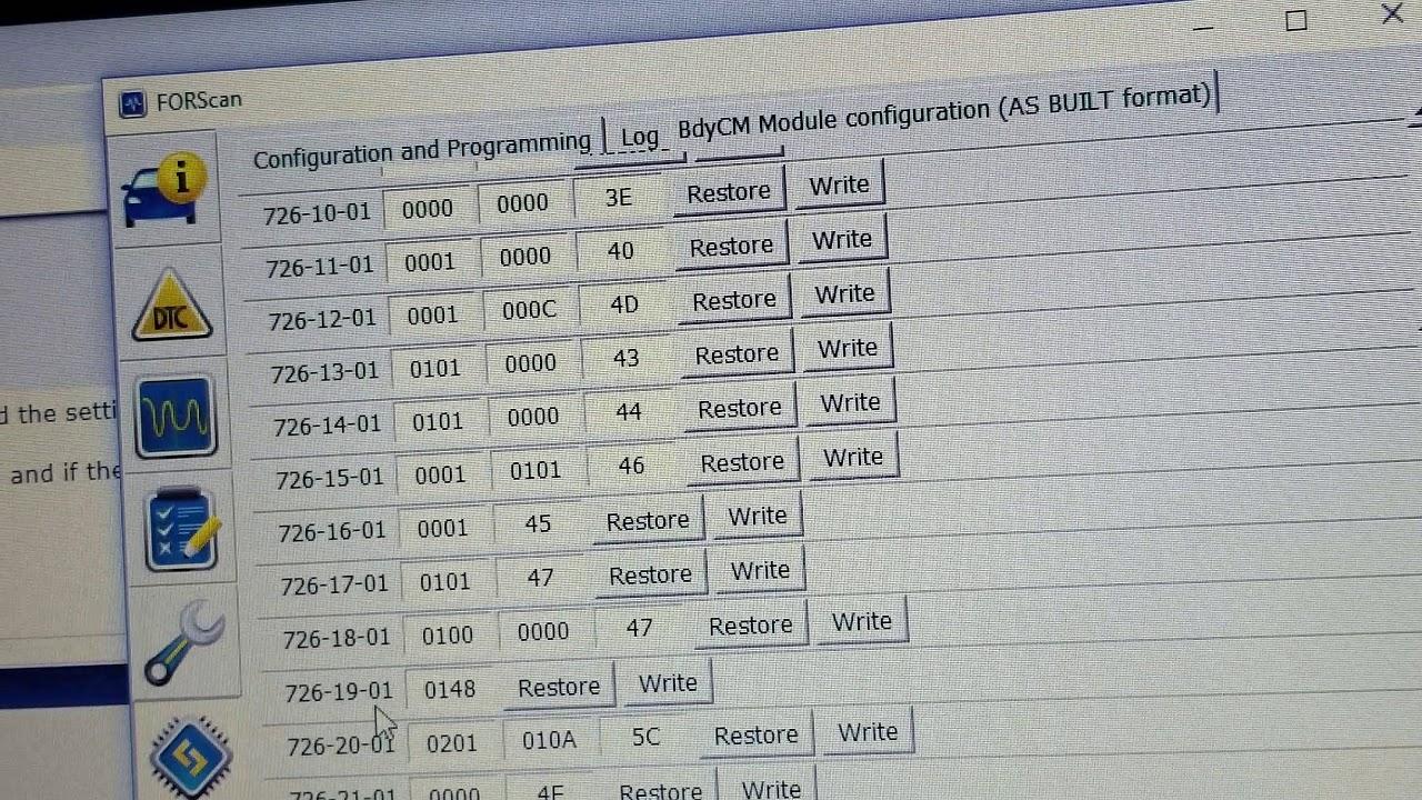 Activating Remote Start Via Forscan For 11 14 F150 Fx