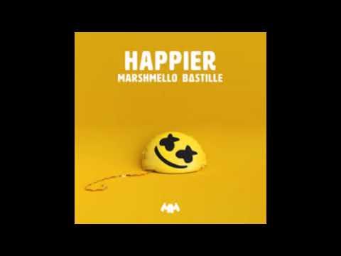 Marshmello & Bastille - Happier (Official Instrumental)