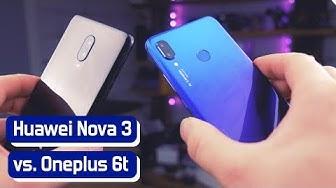 Huawei Nova 3 vs Oneplus 6t