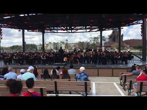 East Meadow High School Orchestra Disney Performance February 2018