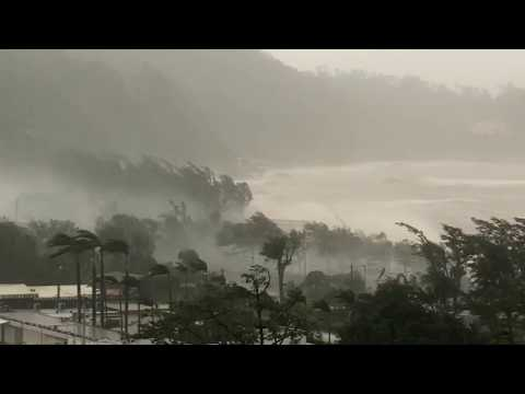 T10 Super Typhoon Mangkhut: Macau, Hong Kong, China