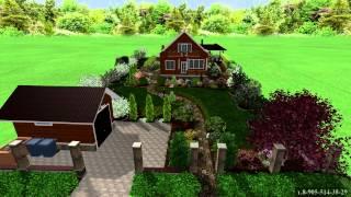 видео 8 идей для обустройства участка со склоном