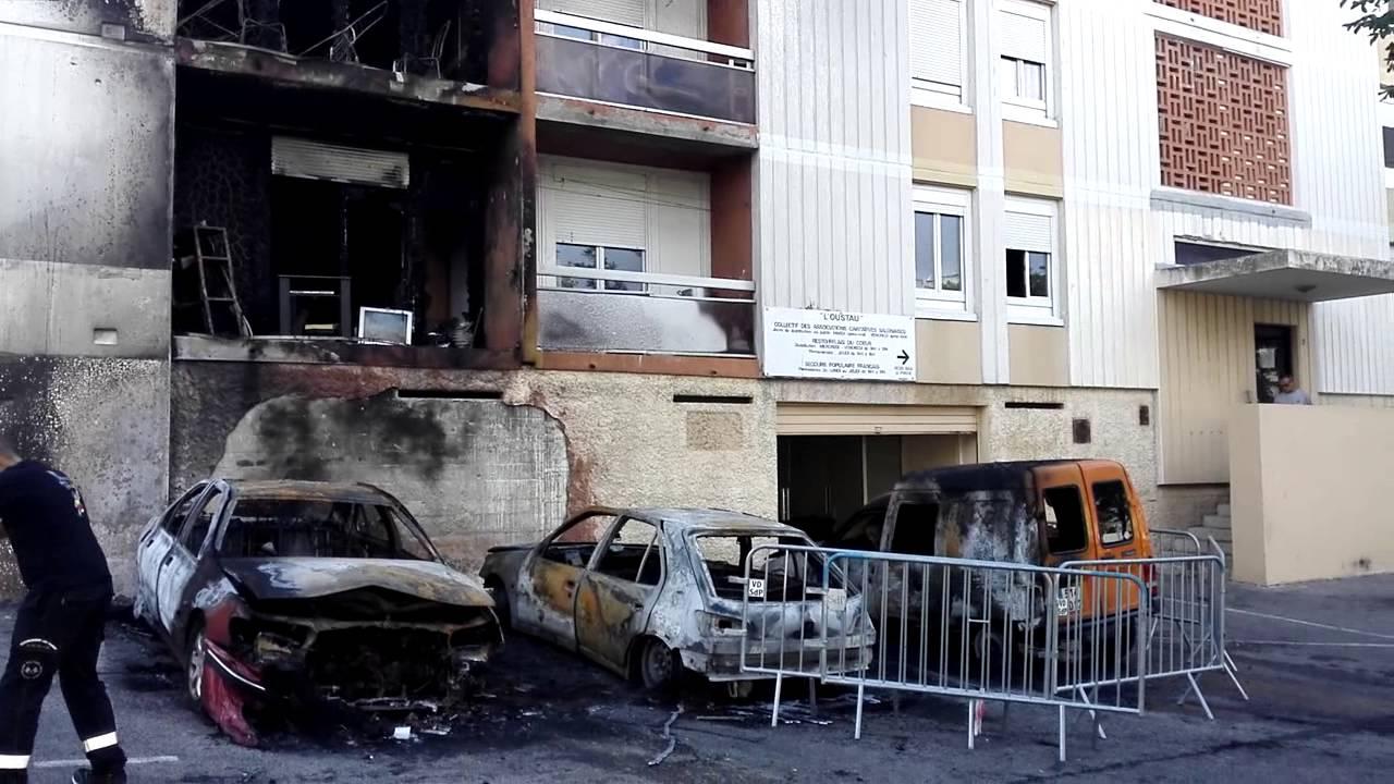 incendie aux canourgues salon de provence youtube