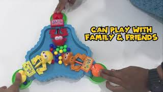 Download Video Hungry frog eating beans toys MP3 3GP MP4