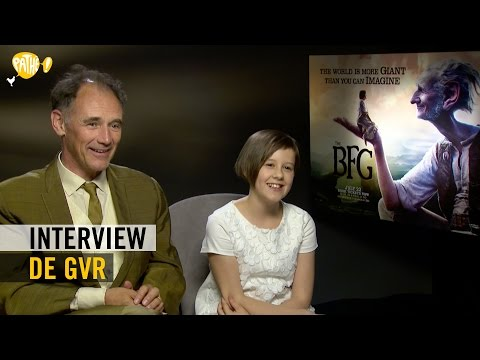 De GVR    Mark Rylance  Ruby Barnhill  Pathé
