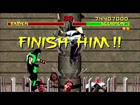 Mortal Kombat 1 Arcade Gameplay Reptile