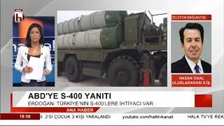 ABD'YE ÇOK SERT S-400 YANITI      /   HASAN ÜNAL