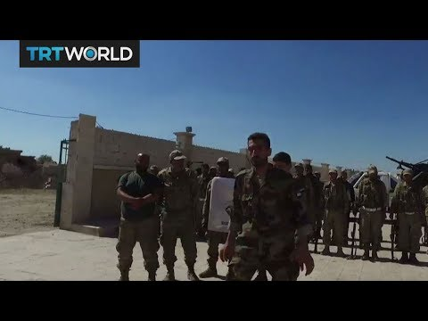 Turkey-backed rebels to form new army in northern Syria