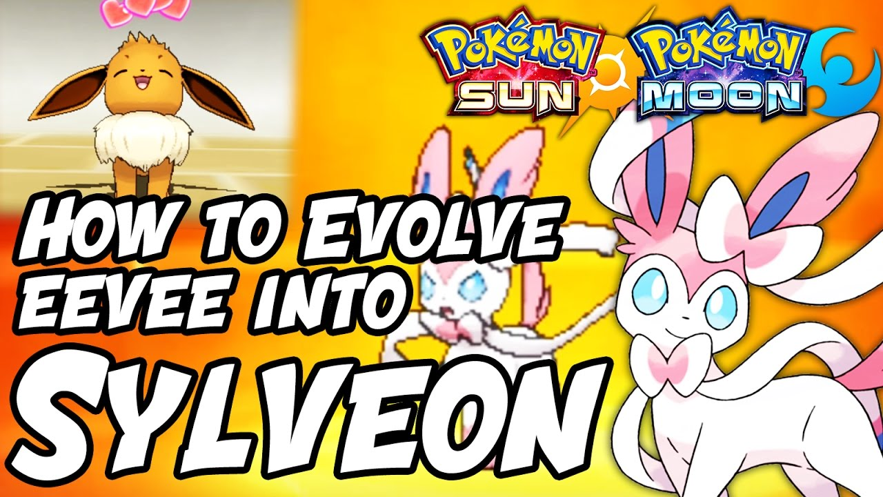 How to evolve eevee into sylveon in pokemon sun and moon also youtube rh