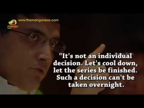 Sourav Ganguly defends MS Dhoni | Respect Dhoni and his ODI record | 2016 T20 World Cup