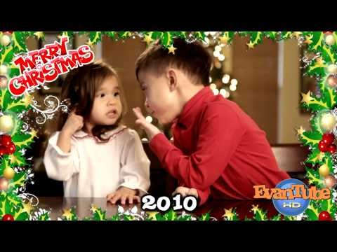 Christmas Flashback - Evan & Jillian sing Christmas Carols