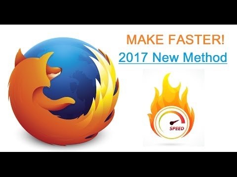 [NEW 2017] How To Make FIREFOX Faster! Dramatically speedup