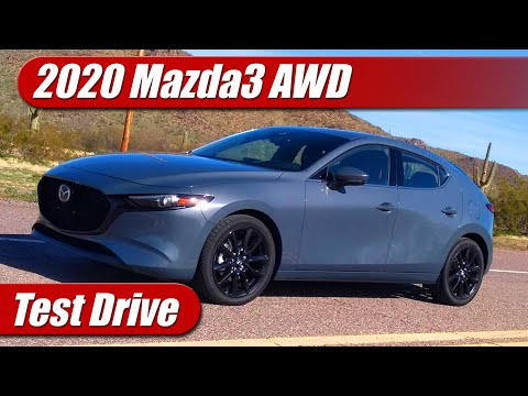 2020 Mazda3 Hatch AWD: Test Drive