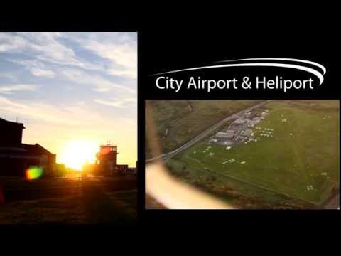 City Airport & Heliport Promotional Video (Manchester UK)