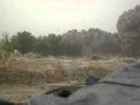 500 lb. Bomb (JDAM) dropped in Afghanistan