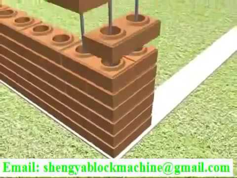 How to build house with interlocking brick lego block, eco brava blocks