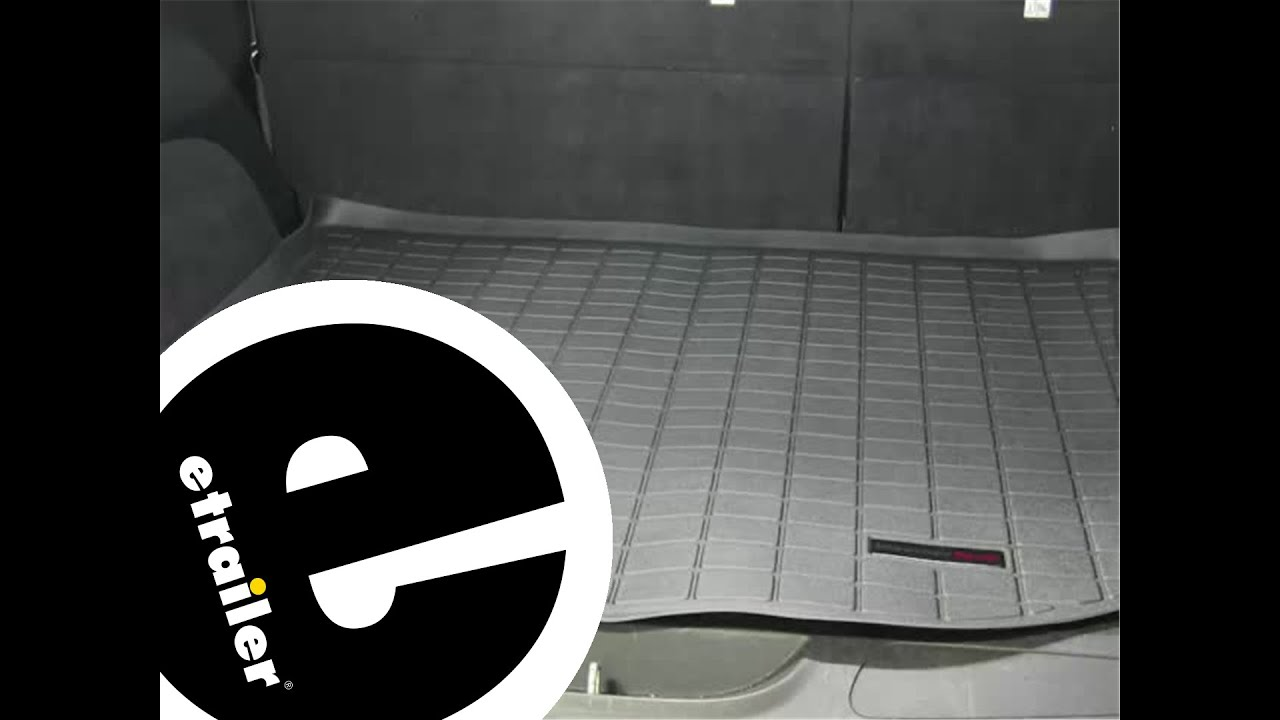 Weathertech mats jeep - Review Of The Weathertech Cargo Floor Liner On A 2011 Jeep Grand Cherokee Etrailer Com Youtube